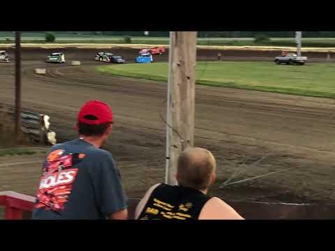 Lee County Speedway Heat Race. 8/3/18