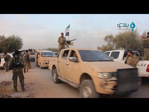 """�رقة """"السلطان مراد"""" �ي الجيش الوطني تد�ع بالمزيد من التعزيزات إلى جبهات المواجهة مع قسد شرقي ال�رات"""