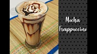 Mocha Frappuccino | Starbucks style frappuccino| Iced Coffee Recipe by Foodie-days