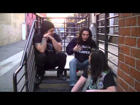 SDMETAL interview with Jessie & Carlos from Thrash Metal band Bonded by Blood