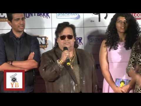 Bappi Lehri @Song Launch Film Hunterr