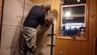 Obadiah's: Hearth Tile Installation