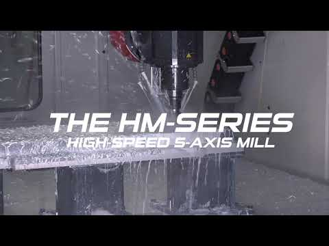 (Official Short Video )  -  The NEW 2021 HM-Series 5-Axis Large Part Milling Center by C.R. Onsrud