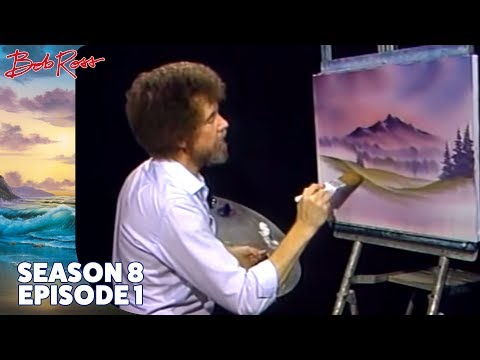 Bob Ross - Misty Rolling Hills (Season 8 Episode 1)