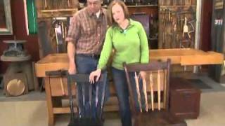 American Woodshop Season 18 - Windsor Arrow Back Chairs