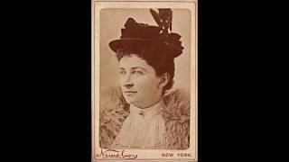 American Soprano Emma Eames:  Si tu le veux ~ Viva amour (1908)