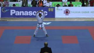 SEA Games 2013 Karate - Faizal Zainuddin of Indonesia vs Myanmar