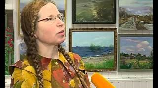 В Рыбинске открылась персональная выставка М.Разиной