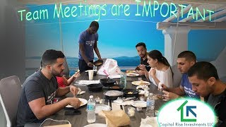 Team Meetings for Ultra Competitive Markets