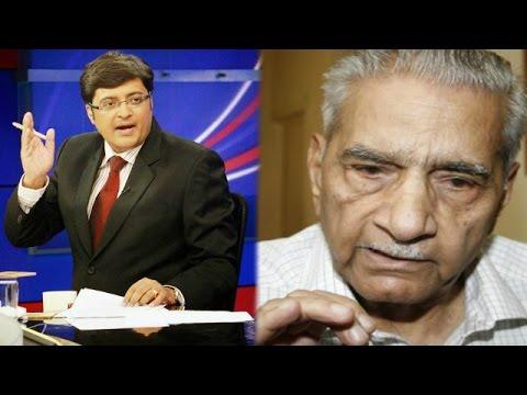 The Newshour Debate: AAP Founder Praises Kiran Bedi - Full Debate (22nd Jan 2015)