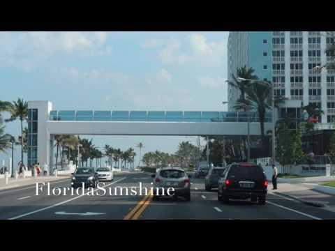 FLORIDA Fort Lauderdale - Hollywood - Sunny Isles - Флорида Санни Айлс Бич -