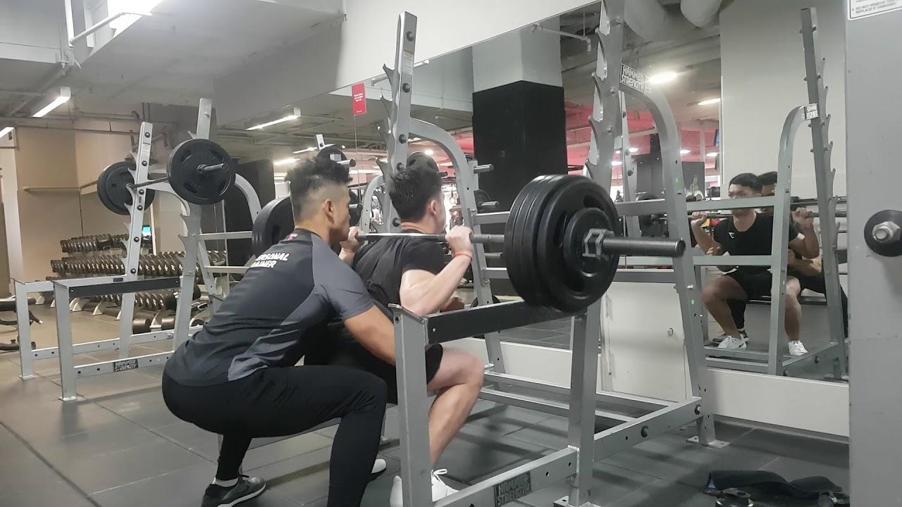 Rich PB 140kg Squat x2