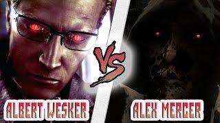 алекс Мерсер vs Альберт Вескер ( ответы на вопросы)