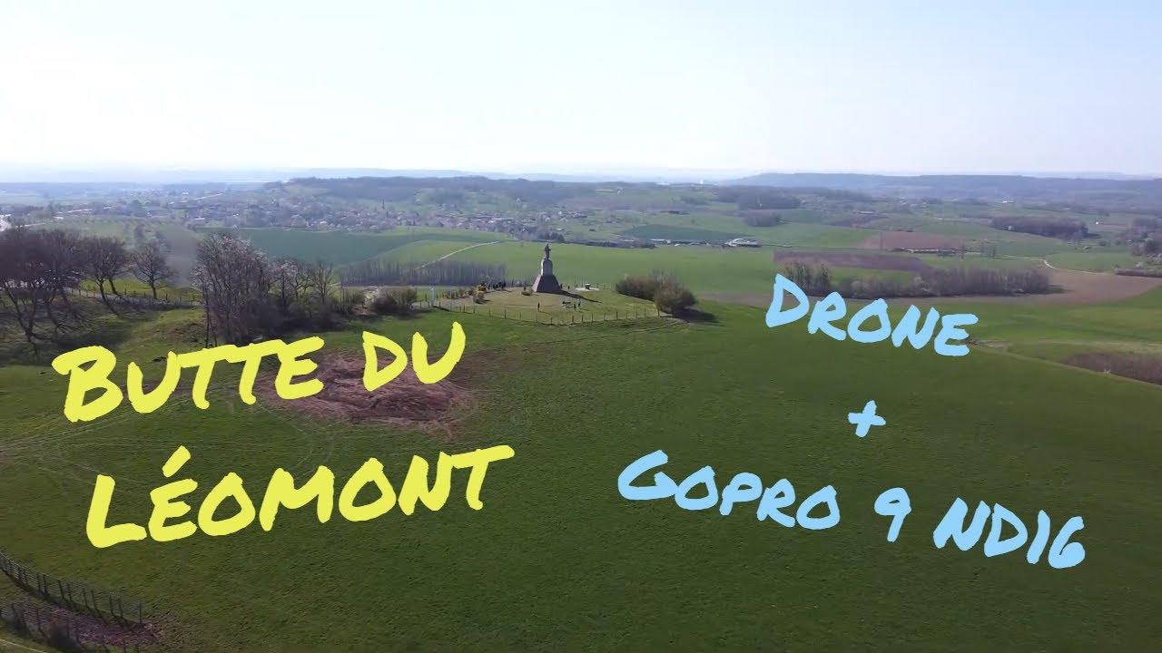 Butte du Léomont - Vue du ciel