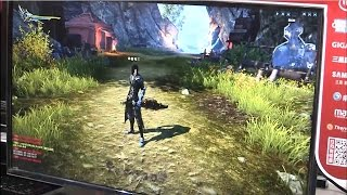 ChinaJoy 2016 - Twilight Spirits Online 《龙魂时刻》Blade Master Gameplay Skills