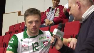 Paweł Woicki po meczu AZS Olsztyn - Cuprum Lubin
