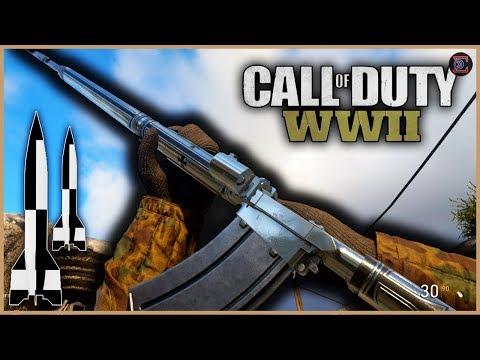 V2 ROCKETS | ROAD TO LvL 1000 [1] | Call of Duty: WW2 | ~500 subs til 100K