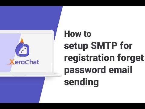 How To Setup SMTP For Registration Forget Password Email Sending