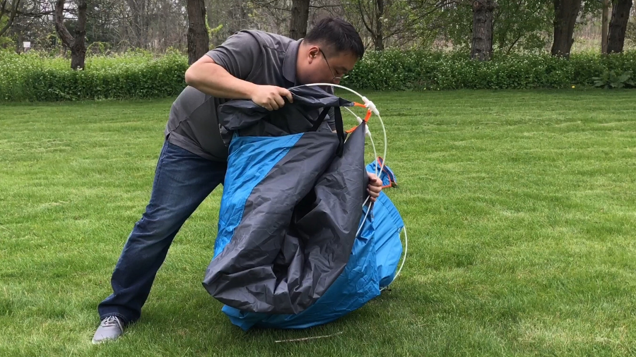 How to pack the Survival Hax 2 Person Automatic Instant Pop Up C&ing Tent & How to pack the Survival Hax 2 Person Automatic Instant Pop Up ...