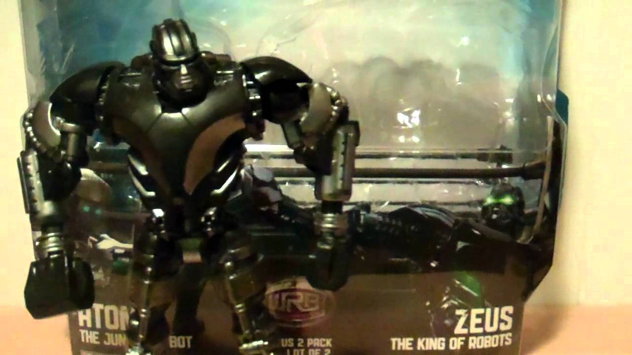 real steel deluxe zeus the king of the robots 6 inch toy review