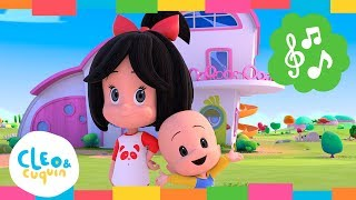 La RISA Y el JUEGO (CANCIÓN de APERTURA) Cleo & Cuquin por la Familia Telerin. Rimas I Canciones Para Niños