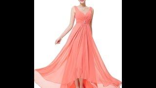 Коралловое Платье - фото - 2018 Мода - Стиль / Coral Dress