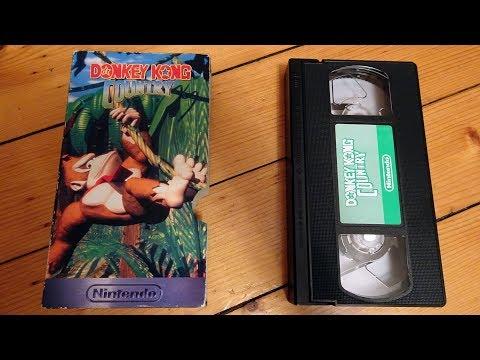 Donkey Kong Country UK promo VHS