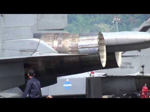 Su-30MKM Thrust Vectoring Nozzles