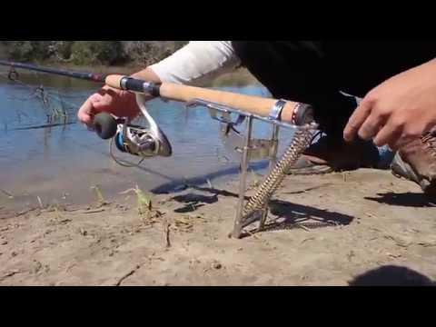 Spring Fishing Rod Holder