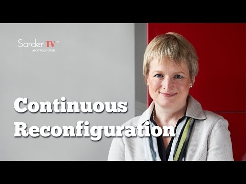 What is continuous reconfiguration? by Rita McGrath, Author of The End of Competitive Advantage