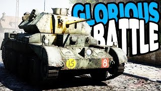 WWII Allied TANK ARMY & Armored Battles | War Thunder Multiplayer Gameplay