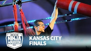 Brendan Couvreux at 2015 Kansas City Finals | American Ninja Warrior