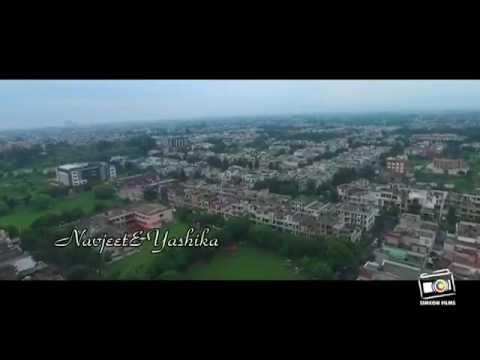 Romantic Best video Navjeet yashika engagement...