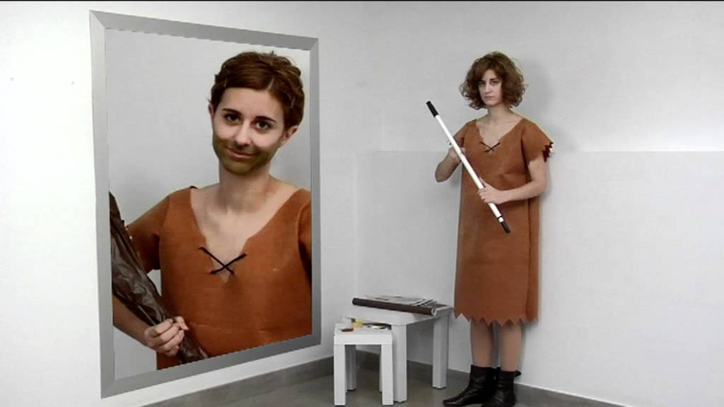 C mo hacer paso a paso el disfraz de pablo m rmol youtube - Disfraz picapiedra casero ...