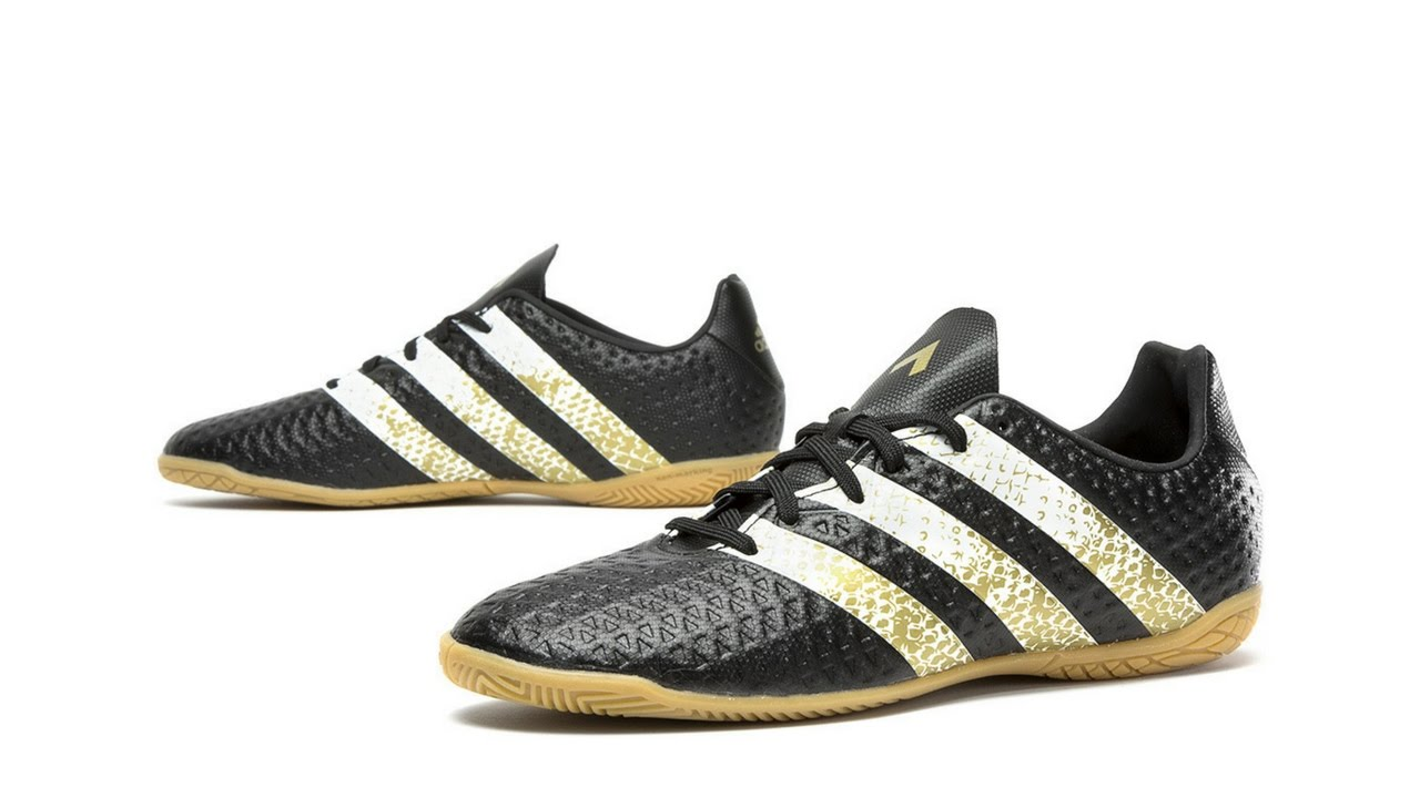 adidas ace 16.4 black and gold