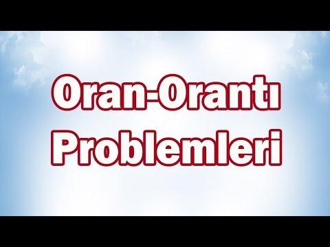 Oran-Orantı Problemleri 7. Sınıf Matematik