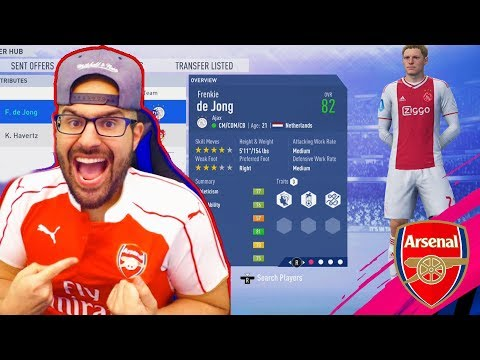 YES! SIGNING A HUGE FUTURE STAR!! FIFA 19 CAREER MODE ARSENAL #06