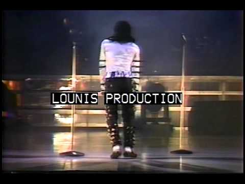 Michael Jackson Footage From Bad World Tour Rome 1988 {30 MINUTES}