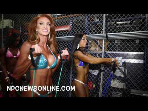 2016 NPC Nationals Bikini Backstage Part 1 Video