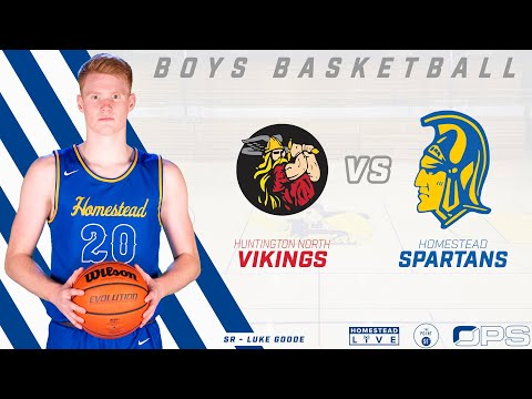 Boys Basketball | Homestead vs Huntington North | 12-1-20 | Fort Wayne, Indiana