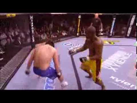 Rashad Evans Vs Sean Salmon Knock Out Youtube