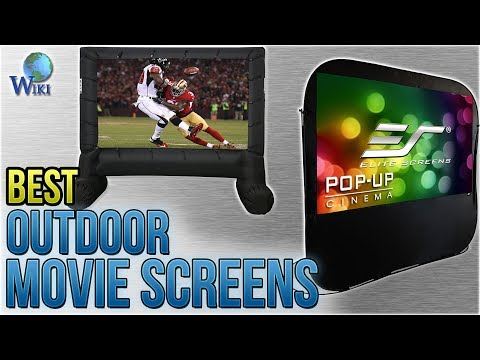 8 Best Outdoor Movie Screens 2018