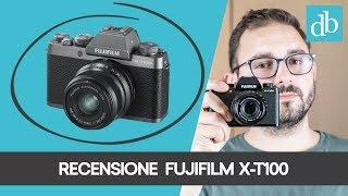 FUJIFILM X-T100 ITA: LA RECENSIONE DELLA MIRRORLESS ENTRY LEVEL