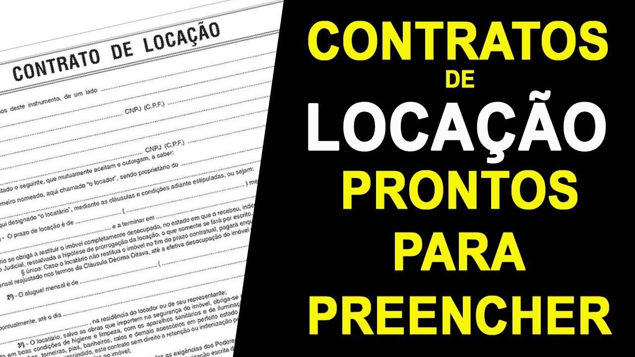Modelo Contrato Locação Comercial Tcc November 2019 Ajuda