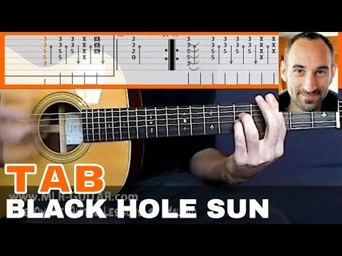 "Guitar Cover / Tab ""Black Hole Sun"" by MLR-Guitar - YouTube"