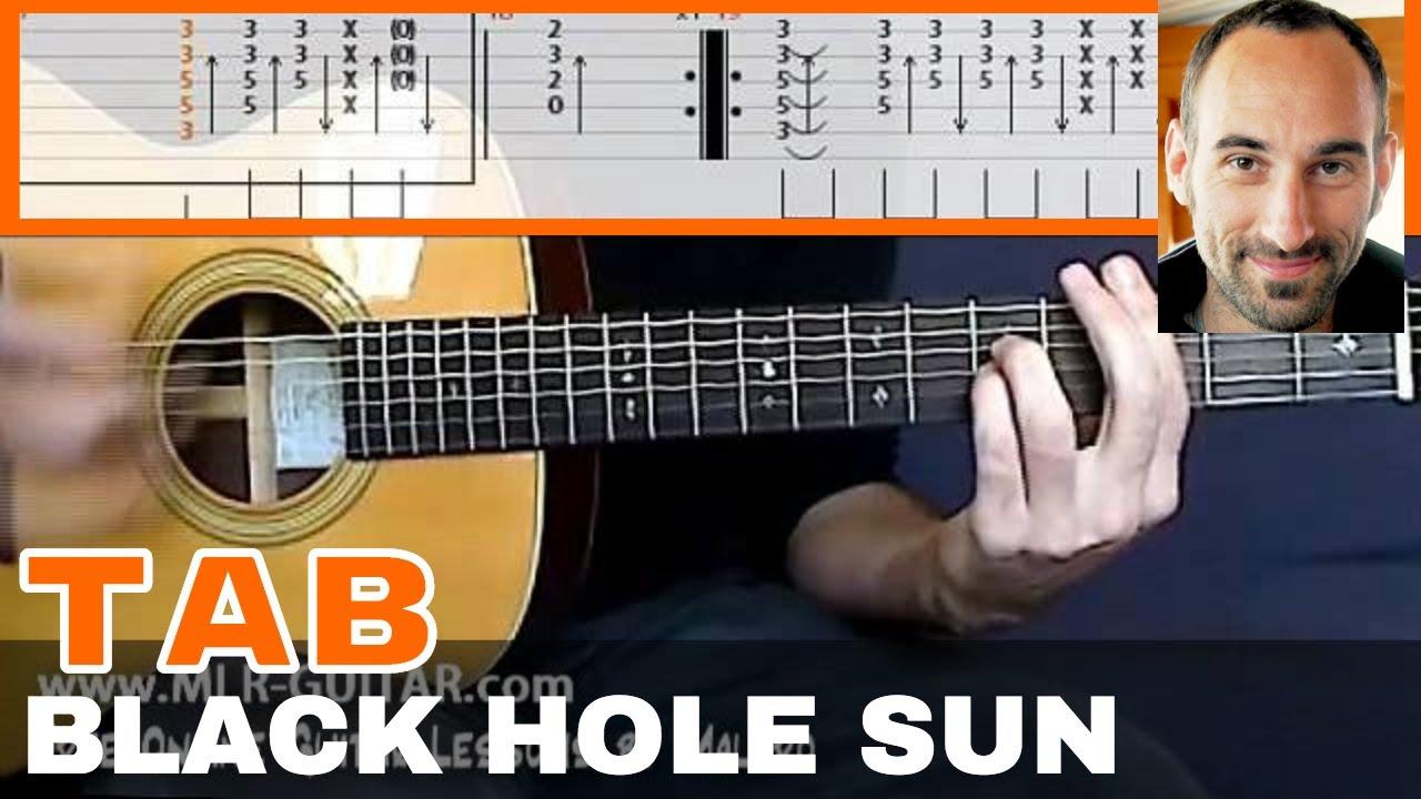 black hole sun ukulele pdf
