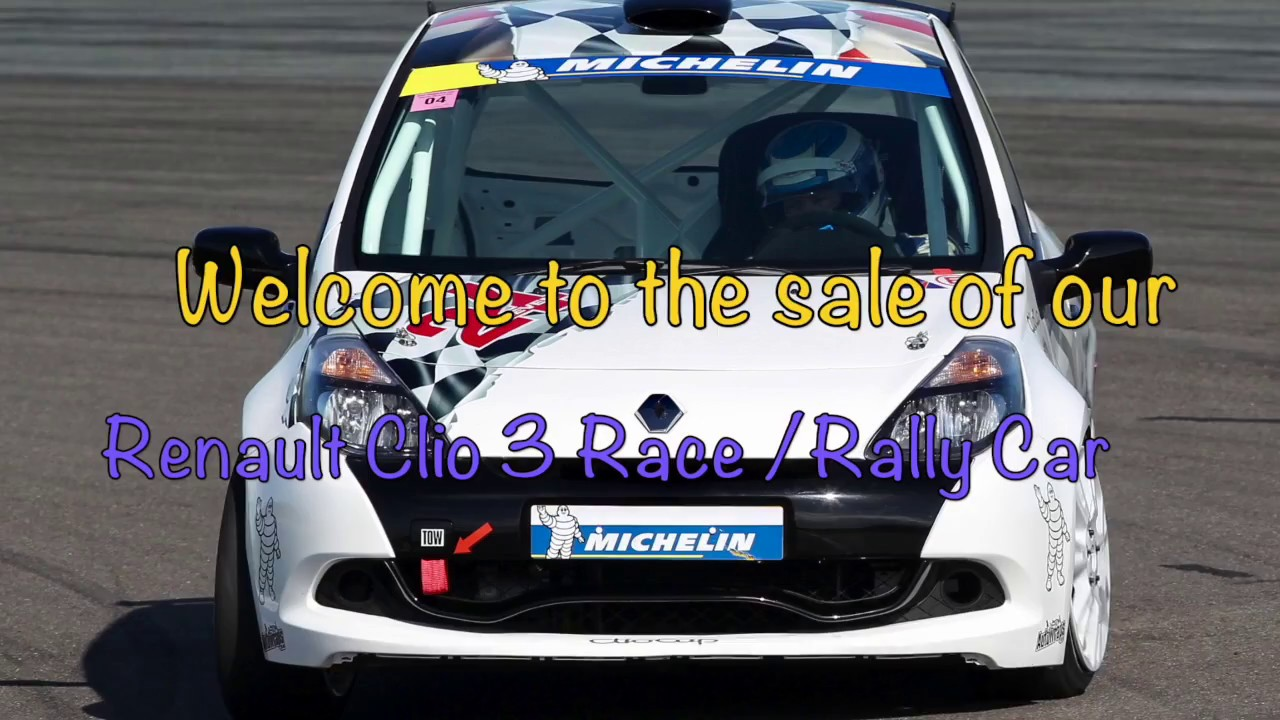 Renault Clio cup race - rally car for sale with mikeedge.co.uk ...