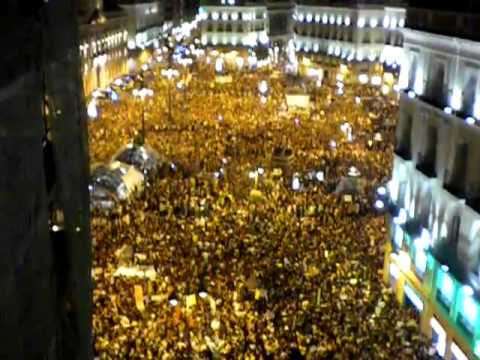 Occupy Movement: Madrid, Spain - Properly Done!