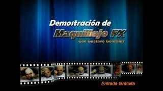 Muestra de maquillaje FX Gustavo González