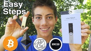 Ledger Nano S - Setup Tutorial and Guide (Hardware wallet) BEST